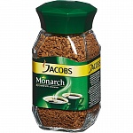 Кофе растворимый Jacobs Monarch, 50 г, стекло